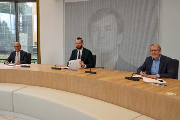 Wethouders oevergemeenten ondertekenen samenwerkingsovereenkomst